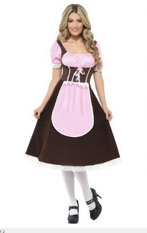 Plus Size Bavarian Tavern Wench Costume (20610)